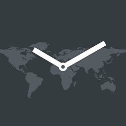 map:clock - World Map & Clock