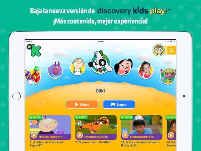 Discovery Kids Play En App Store