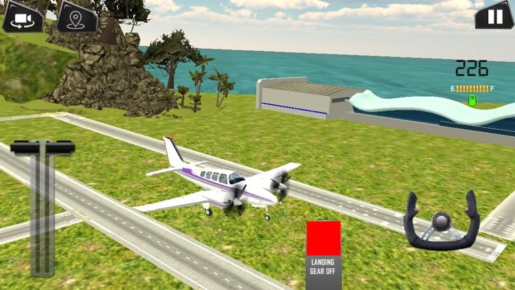 Island Plane Flight Simulator