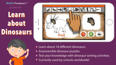 Let's Learn About Dinosaurs! screenshot 1