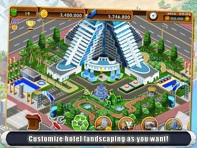Hotel Tycoon2 HD screenshot-1
