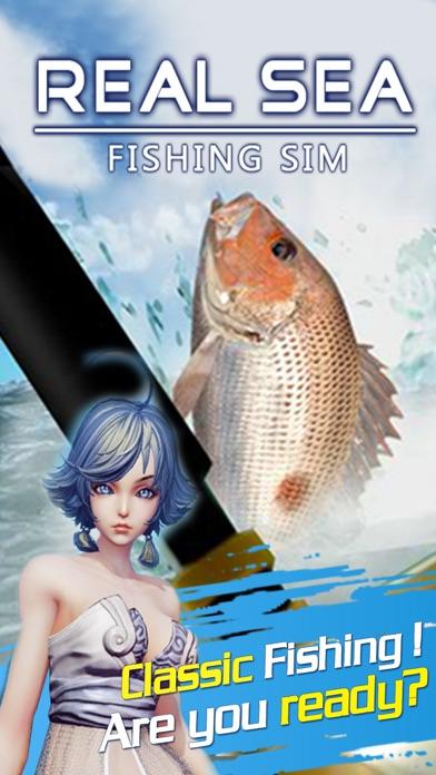 Real Sea Fishing Sim(3D)