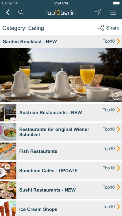 Top10 Berlin - Location Guide