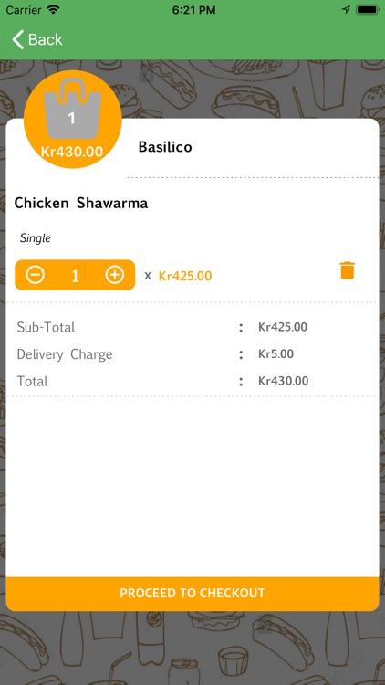 FoodTaxi - Food Ordering App screenshot-5