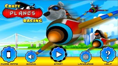 Crazy Planes Racing Simulator screenshot one