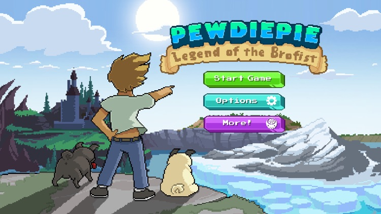 PewDiePie: Legend of Brofist screenshot-0