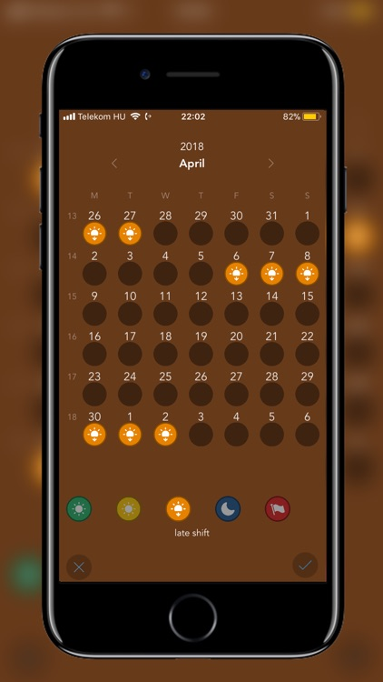 Visual Calendar screenshot-1