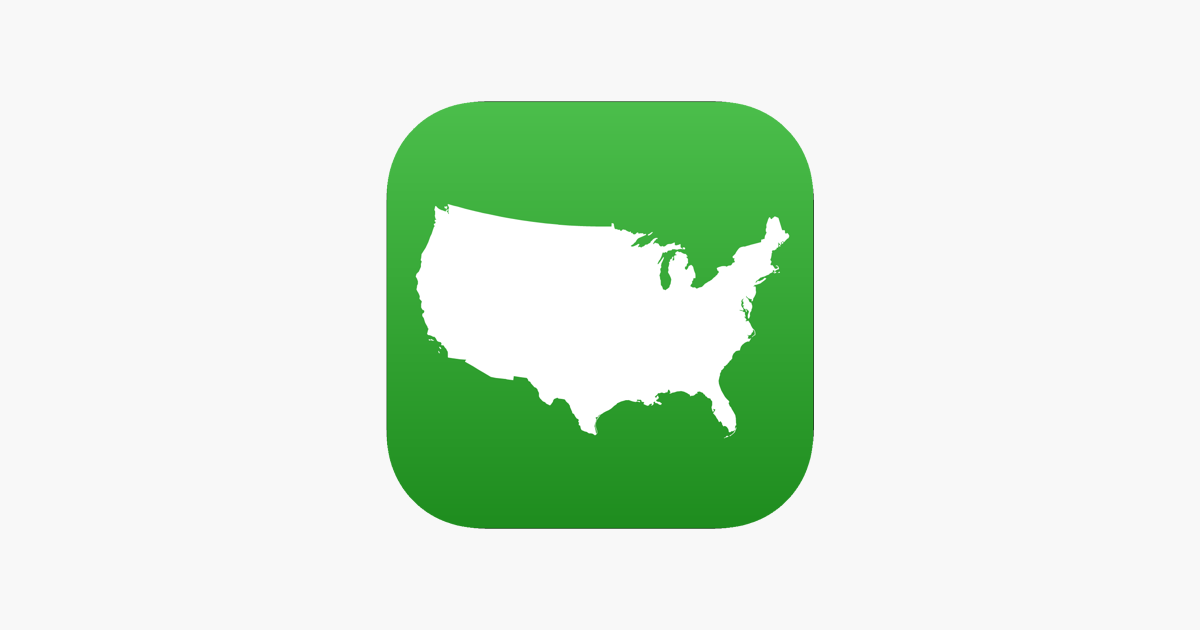 Visited States Map on the App Store