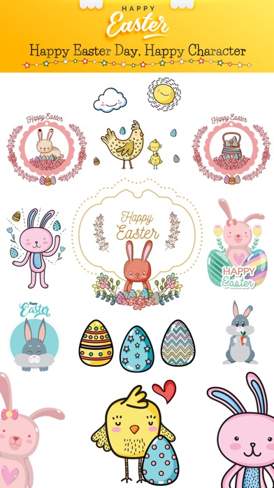 Happy Easter Day Stickers screenshot 1