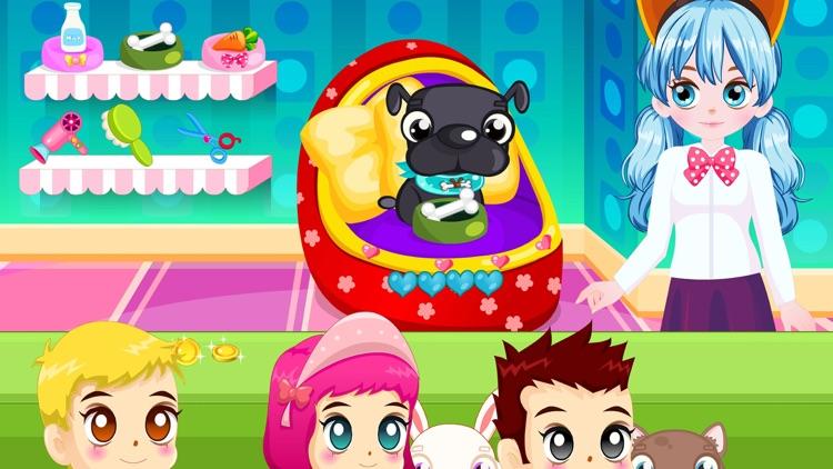 打工装扮娃娃屋-公主挣钱游戏 screenshot-4