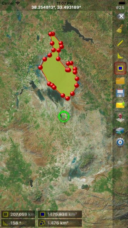 GPS Area Measure