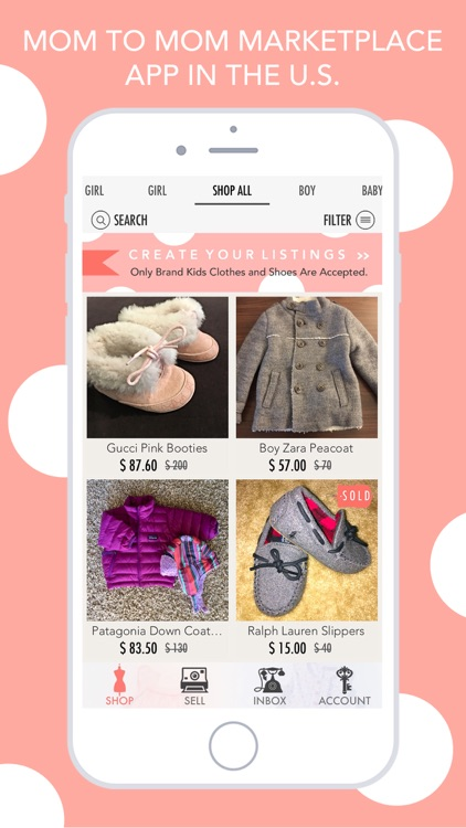 ENVIE - Buy&Sell Kids Fashion screenshot-0