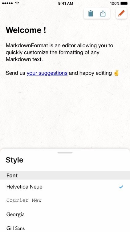 MD Format, a MarkDown editor with style