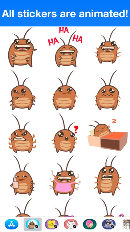 Cockroach - Animated stickers