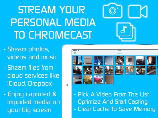 Video & TV Cast | Chromecast Screenshots