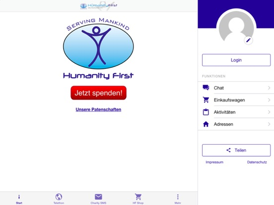 Humanity First Deutschland App Price Drops