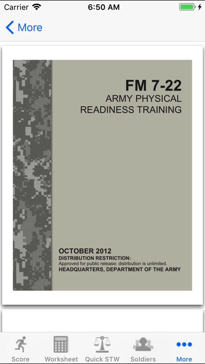 Army Fitness APFT Calculator screenshot-3