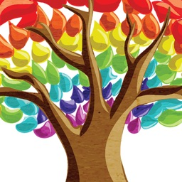 Rainbow Tree Stickers