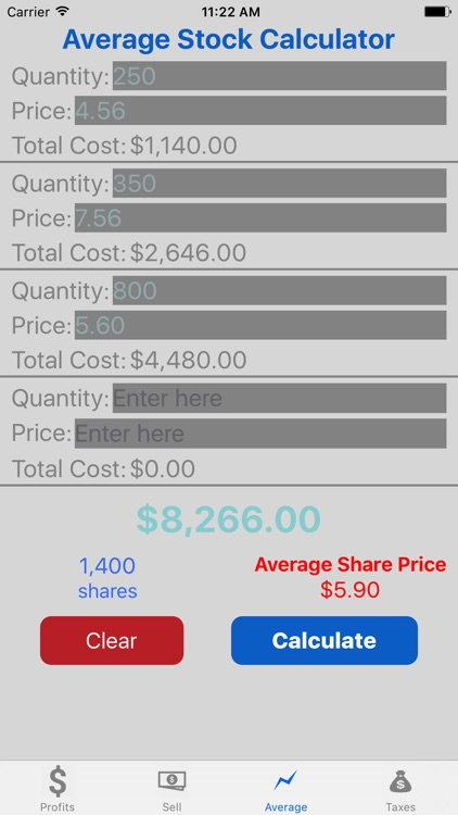 Stock Target Calculator Pro screenshot-3
