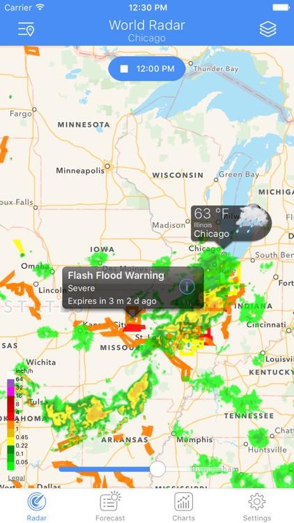 NOAA Radar - Weather & Alerts. screenshot-3