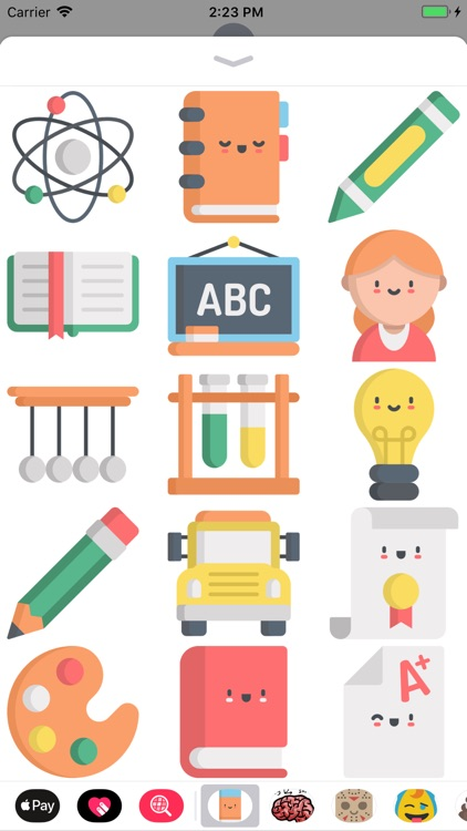 Cute Back To School Stickers screenshot-3