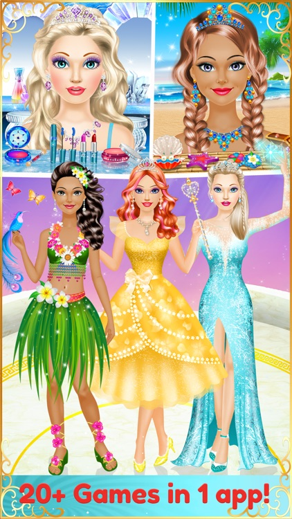 Dress Up Makeup Girl Games By Peachy Games Llc
