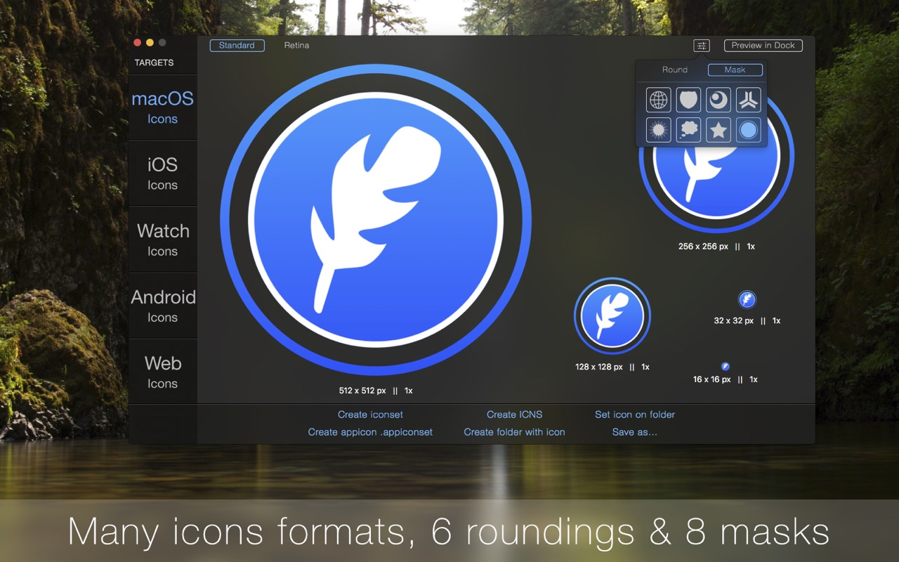 IconFly 3 8 2 – Create icons from images  | macOS Apps | Mac