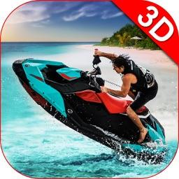 Jet Ski Boat Racing & Stunts