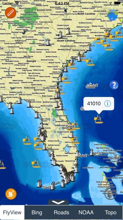 NOAA Buoys - Charts & Weather