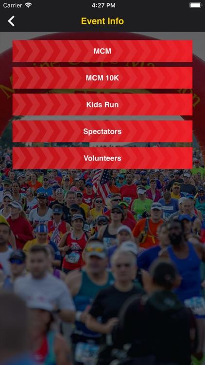 Marine Corps Marathon screenshot-3