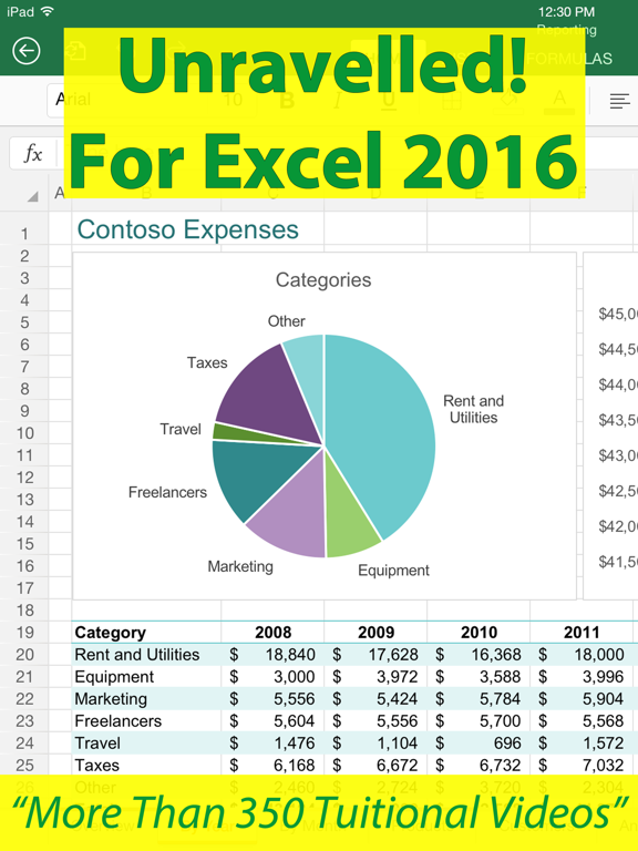 Unravelled! For Excel 2016 screenshot 6