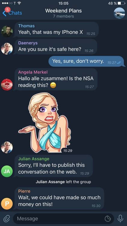Telegram X screenshot-2