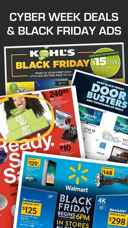 Cyber Week 2017 Ads, Coupons