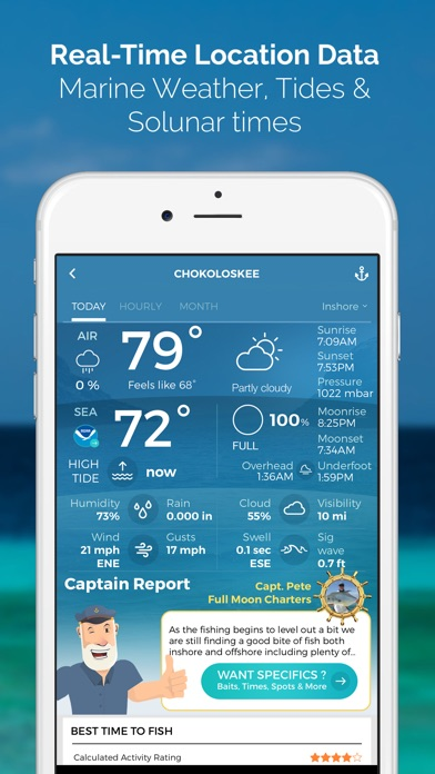 Pro Angler - Fishing Reports app image