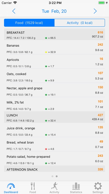 Noco Calories screenshot-1