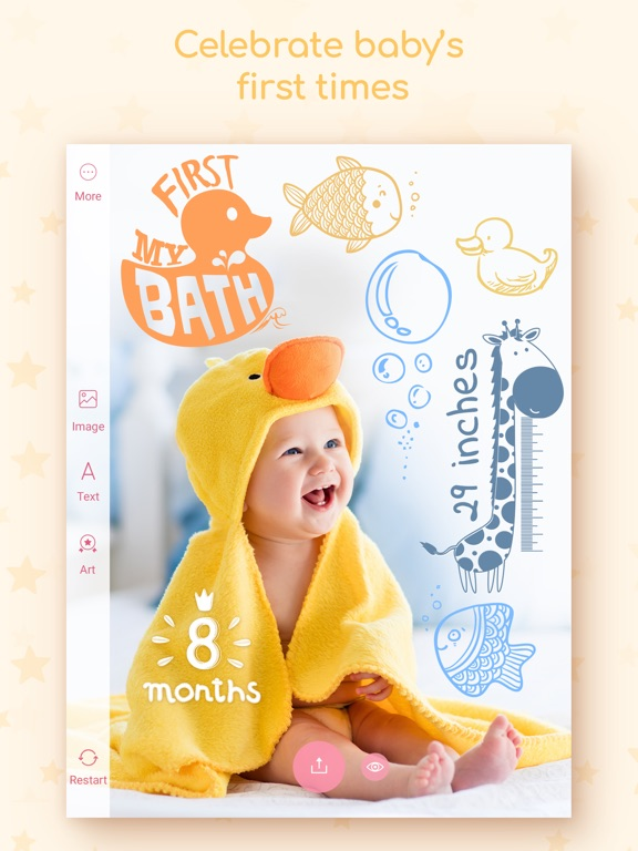 Tiny Memories - Baby Story iPad
