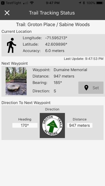 Groton Trail Tracker screenshot-3