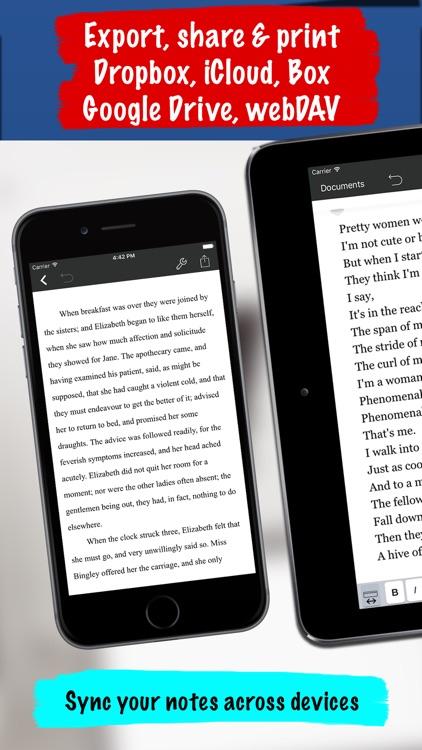 Notes Writer+ screenshot-4