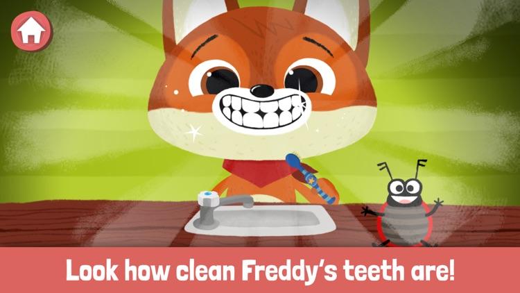 WoodieHoo Brushing Teeth screenshot-5