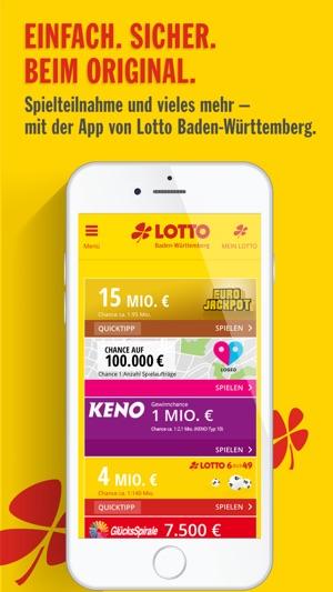 lotto bw app ipad