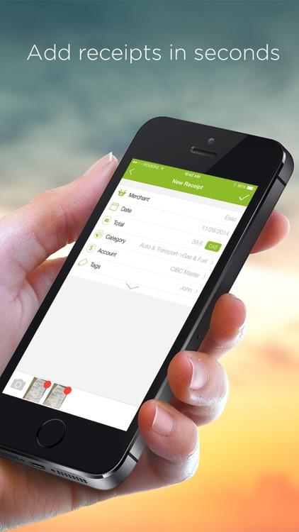 Foreceipt Receipt Tracker App screenshot-3