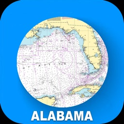 Alabama USA Nautical Charts