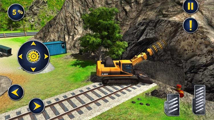 Railroad Tunnel Construction