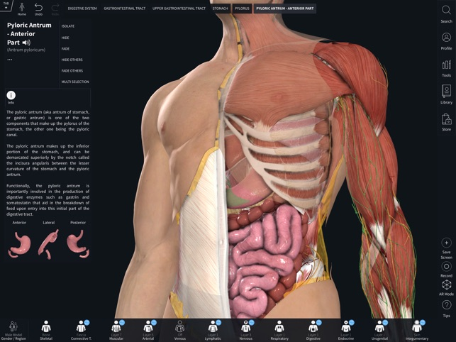 Complete Anatomy 2019 Screenshot