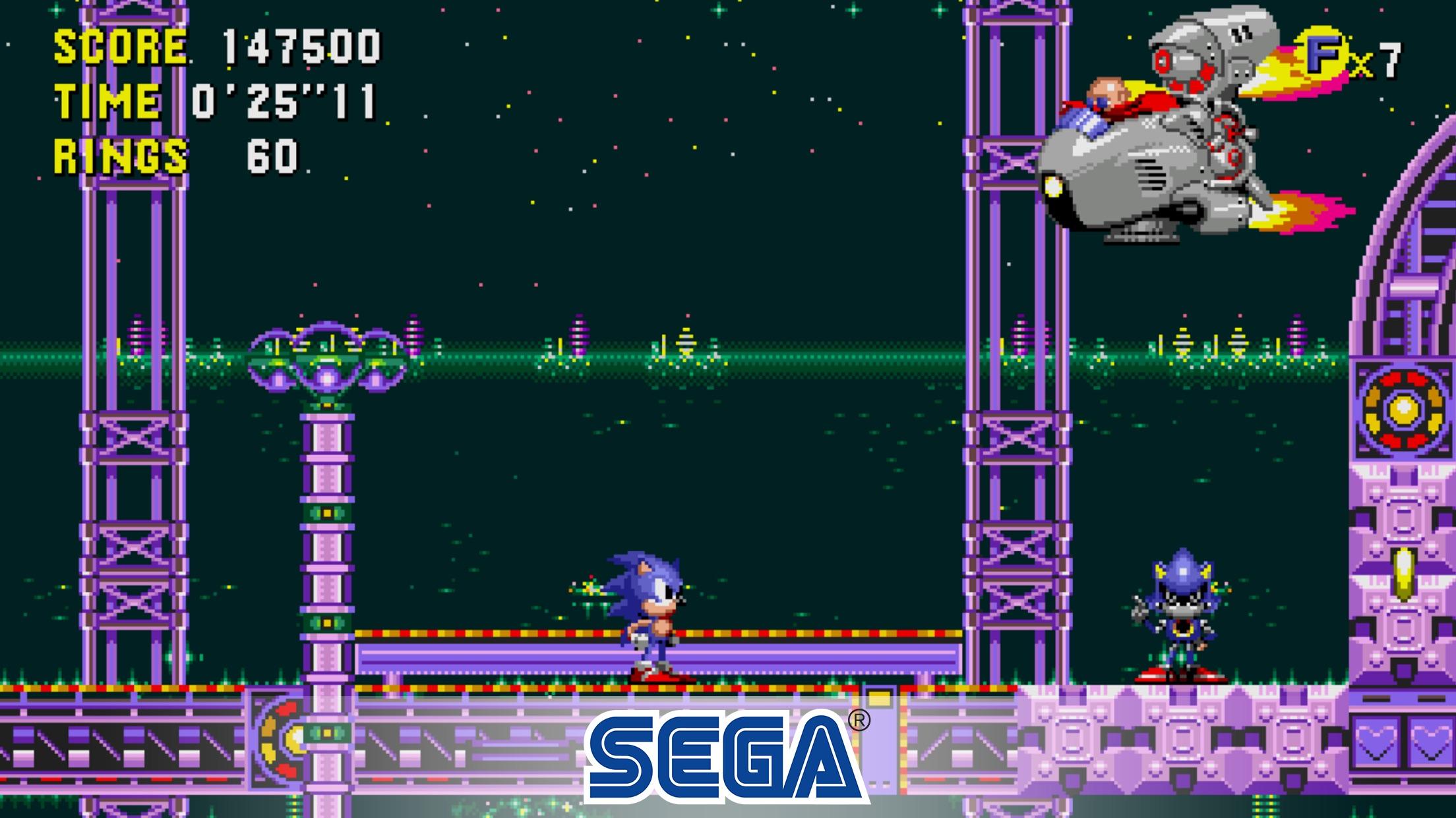 Screenshot do app Sonic CD Classic