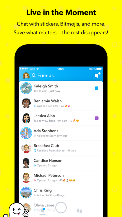 Screenshot for Snapchat in United States App Store