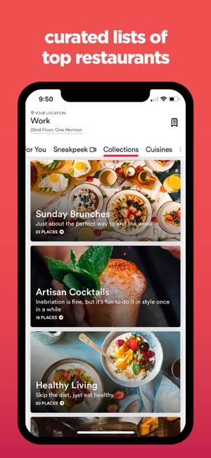 zomato food restaurants on the app store