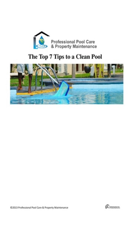 Pool Care Property Maintenance screenshot-0
