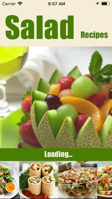 250 Salad Recipesのおすすめ画像1