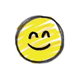 Pencil drawing smiley emoji pack